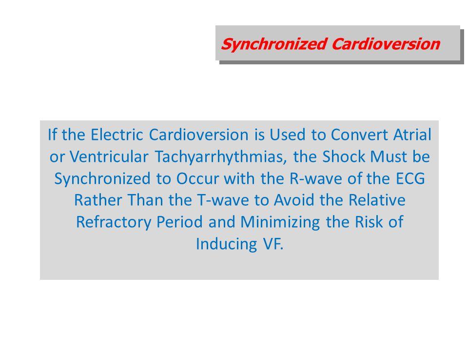 Synchronized Cardioversion