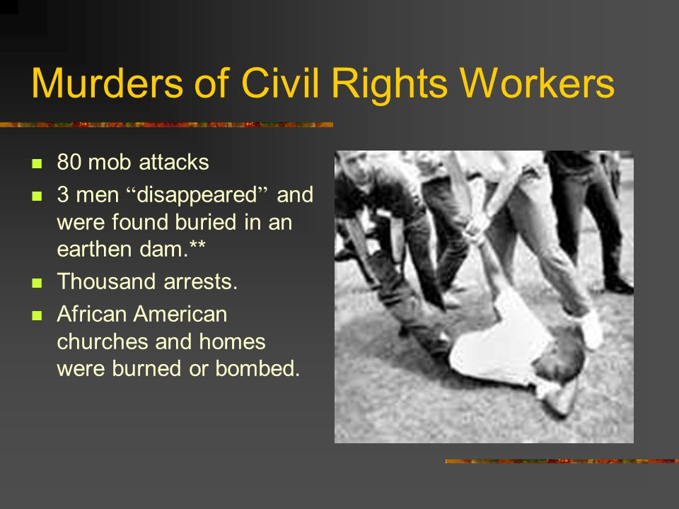 Murders of Civil Rights Workers