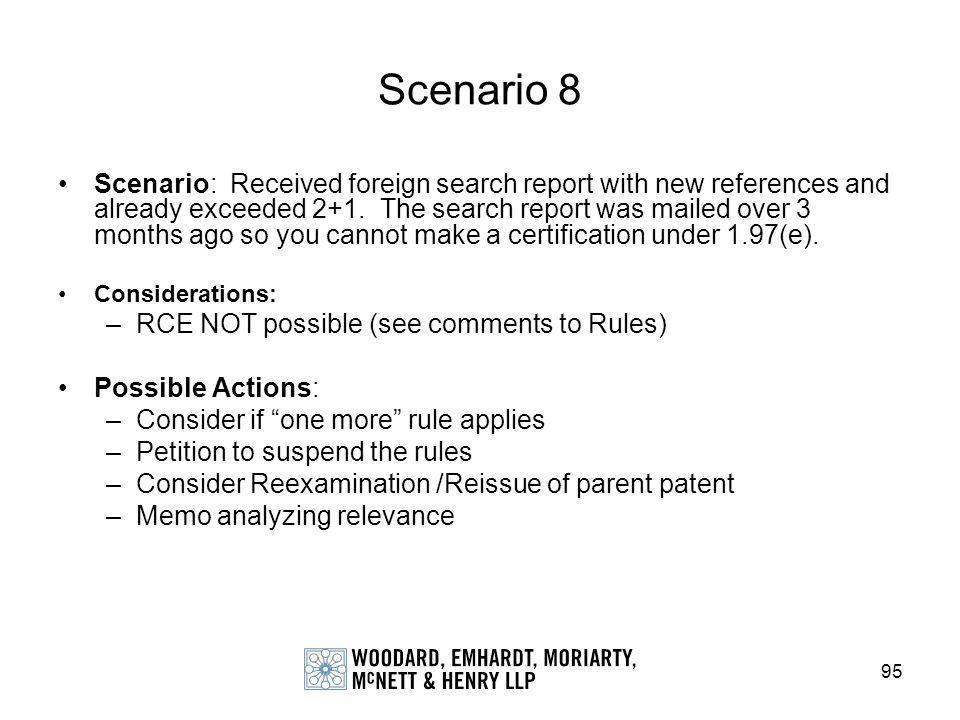 Scenario 8