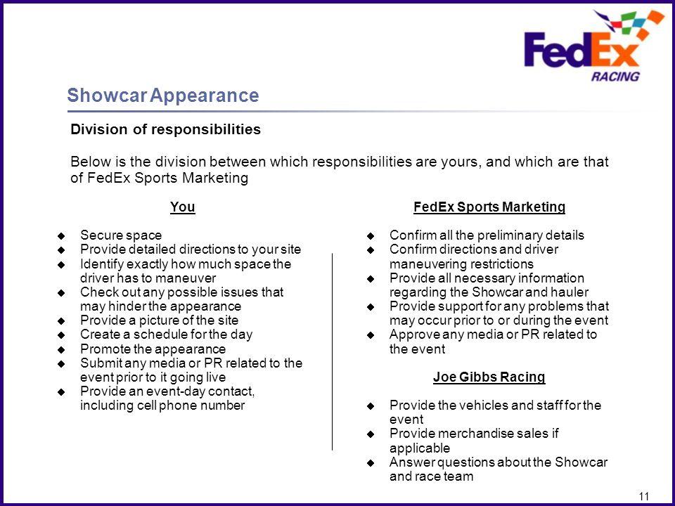 FedEx Sports Marketing