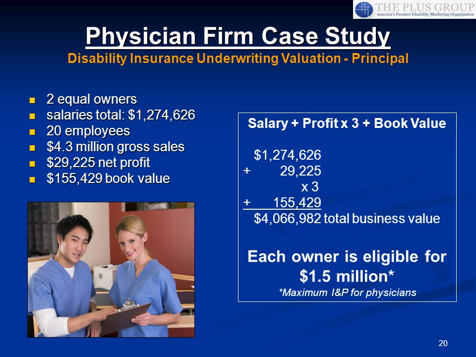 Physician Firm Case Study