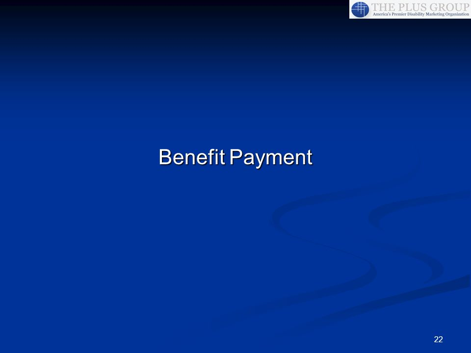 Benefit Payment