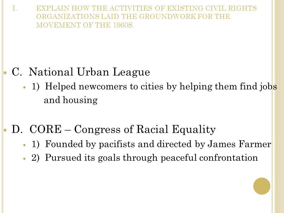 C. National Urban League