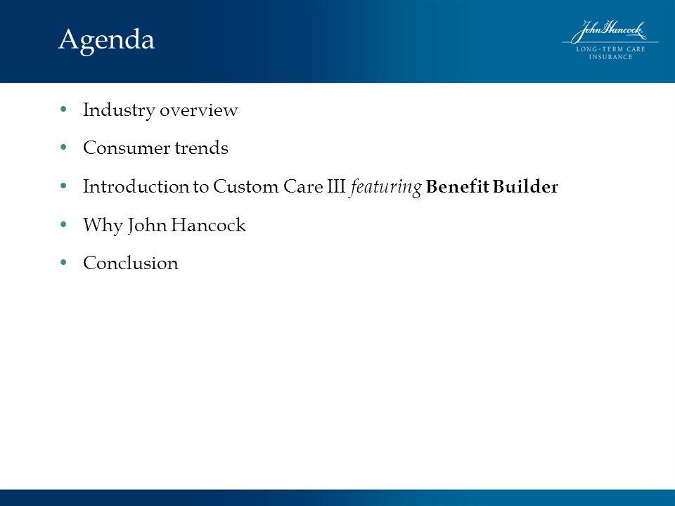 Agenda Industry overview Consumer trends