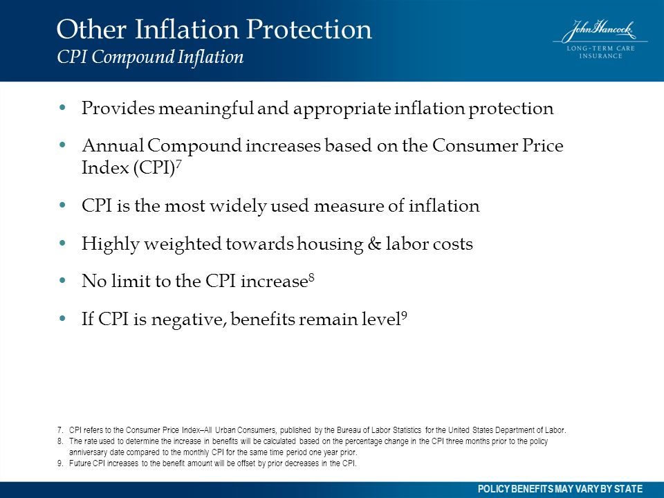 Other Inflation Protection CPI Compound Inflation