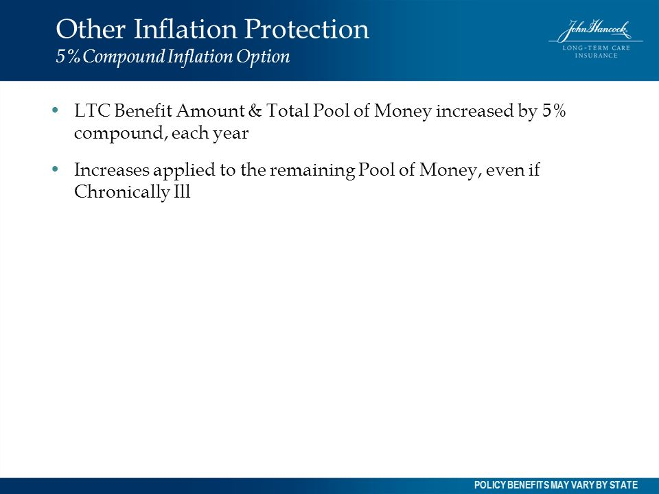 Other Inflation Protection 5%Compound Inflation Option