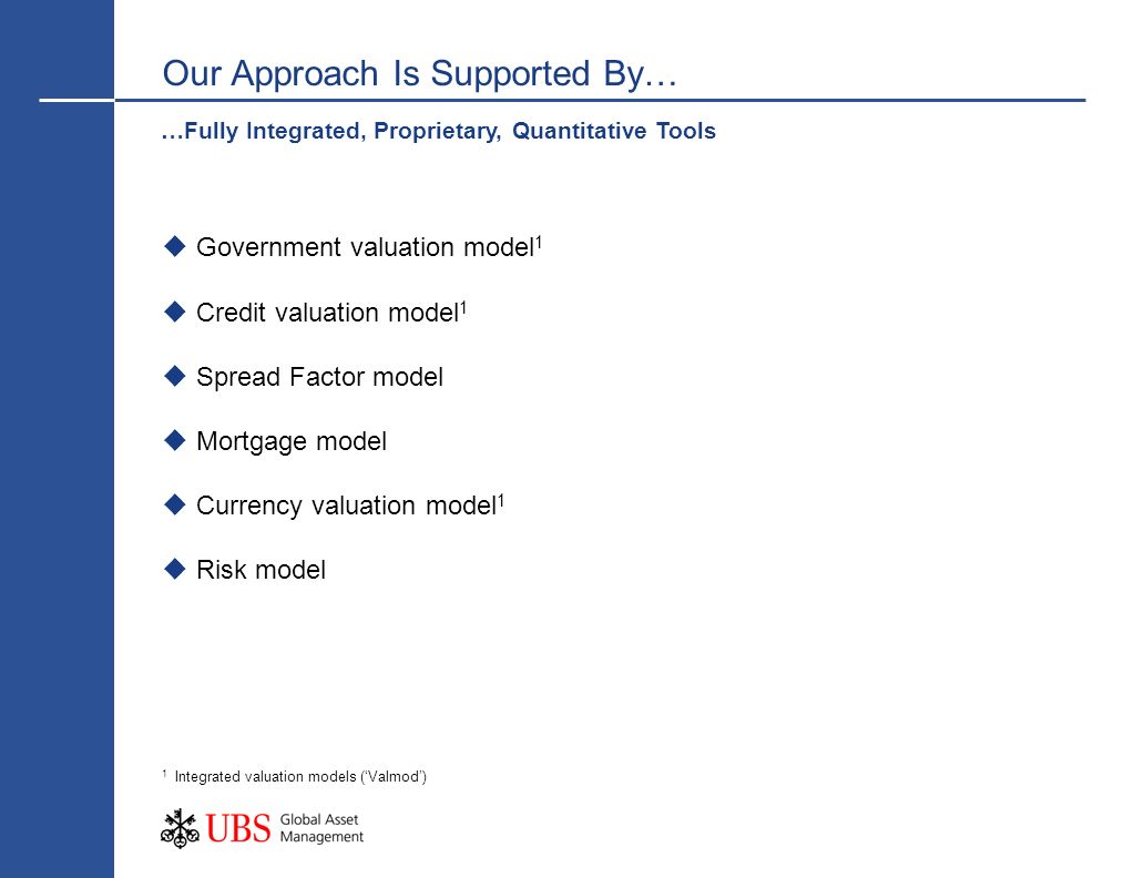 Our Approach Is Supported By…