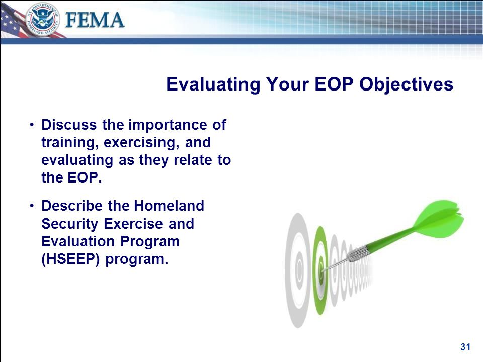 Benefits of Training, Exercising, and Evaluating Your EOP