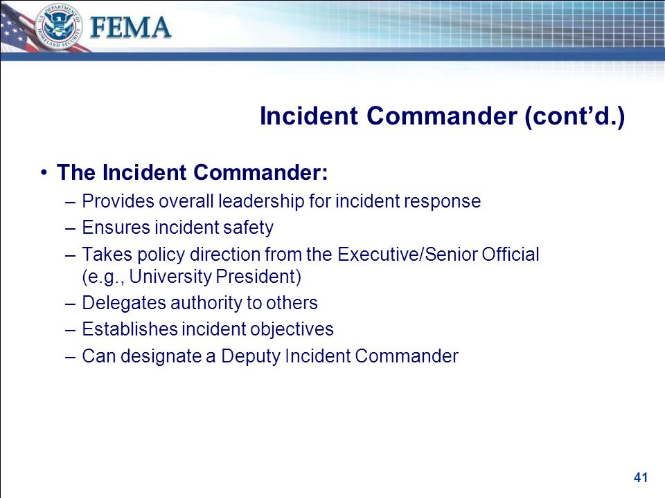 Incident Management Roles