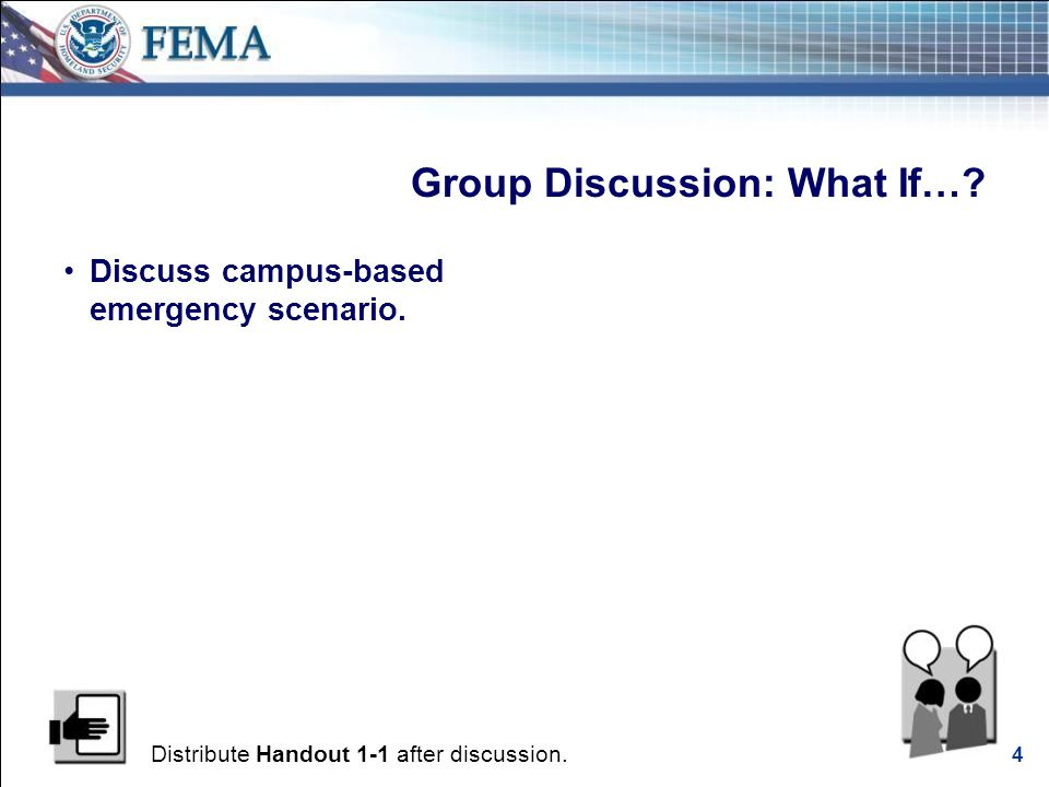 FEMA Multi-Hazard Emergency Planning for Higher Education Executive Seminar