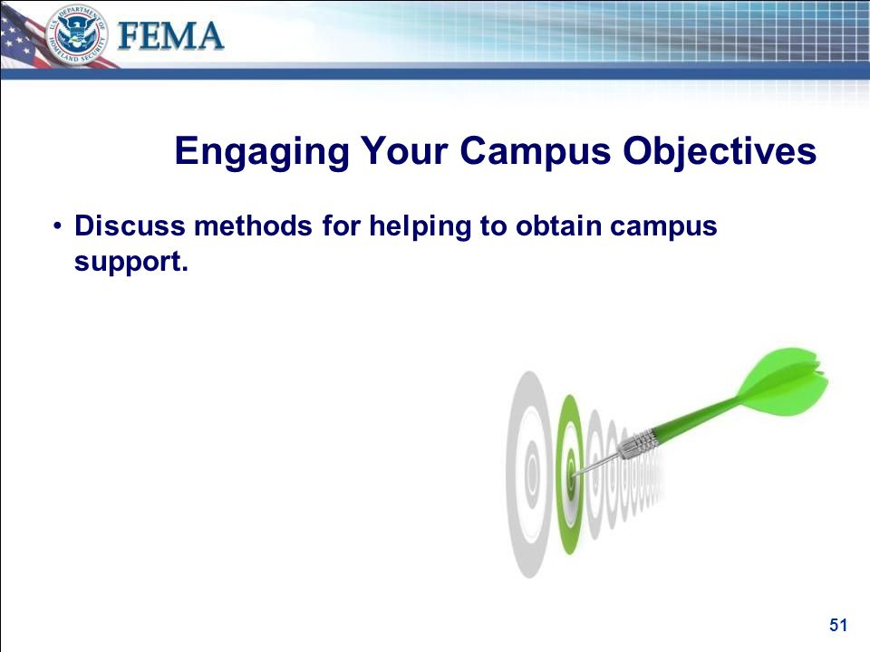 Methods for Helping Obtain Campus Support