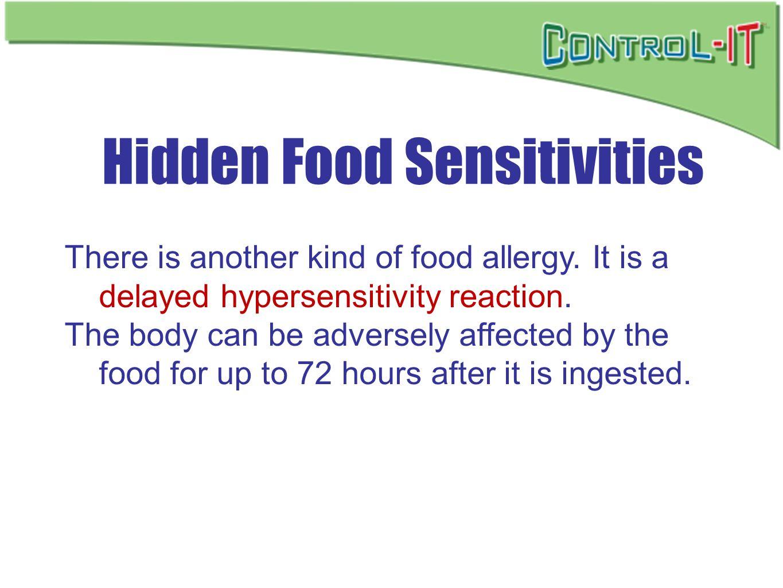 Hidden Food Sensitivities