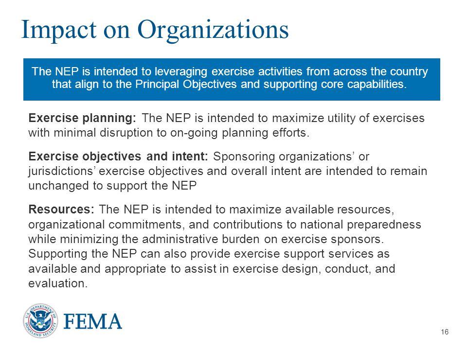 Impact on Organizations