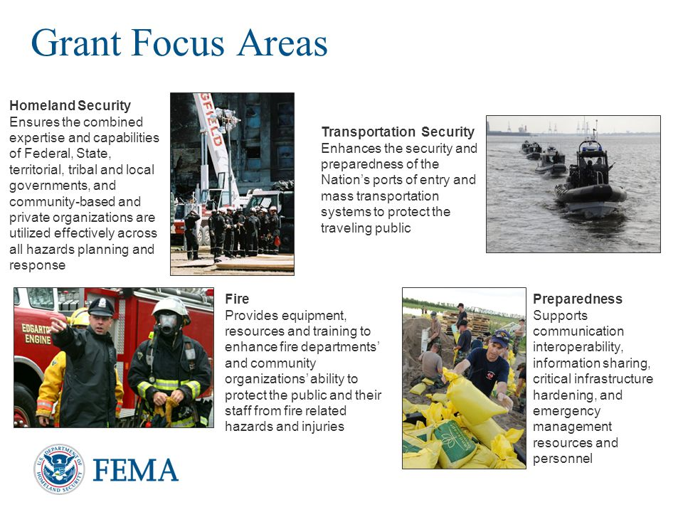 Grant Focus Areas