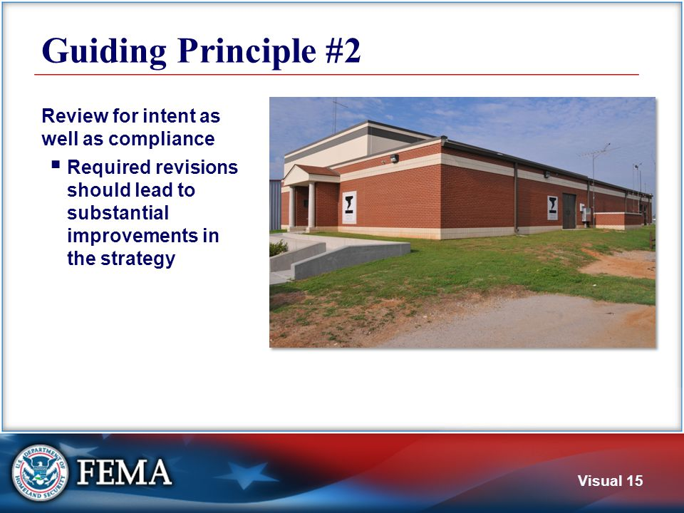 Guiding Principle #3 Understand that the process of developing a local hazard mitigation plan is as important as the plan itself.