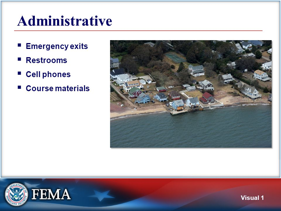 Course Goal To provide plan approvers with the information necessary to review a local hazard mitigation plan.