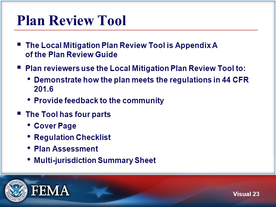Cover Page Includes Local Mitigation Plan information