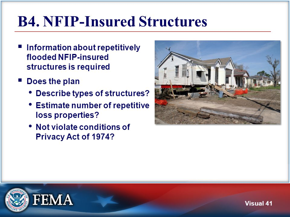 Additional Notes FEMA does not require a specific format for the plan