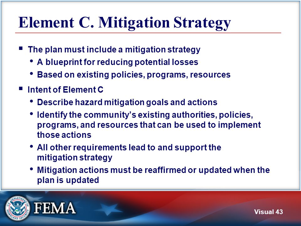 C1. Existing Policies and Programs