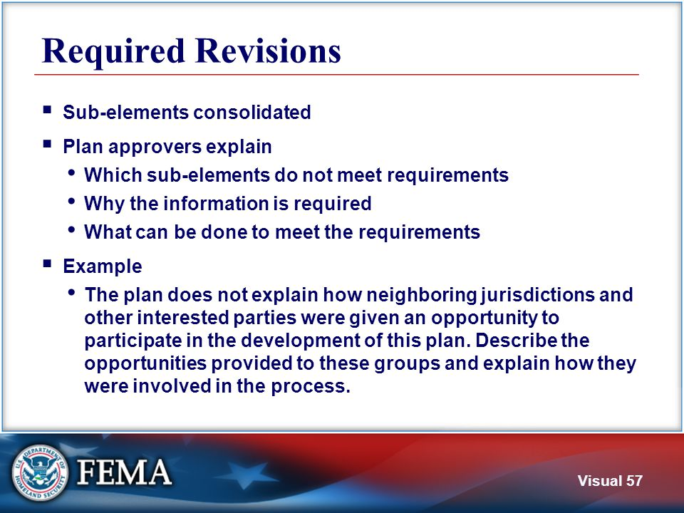 Questions This section covered these elements Planning Process