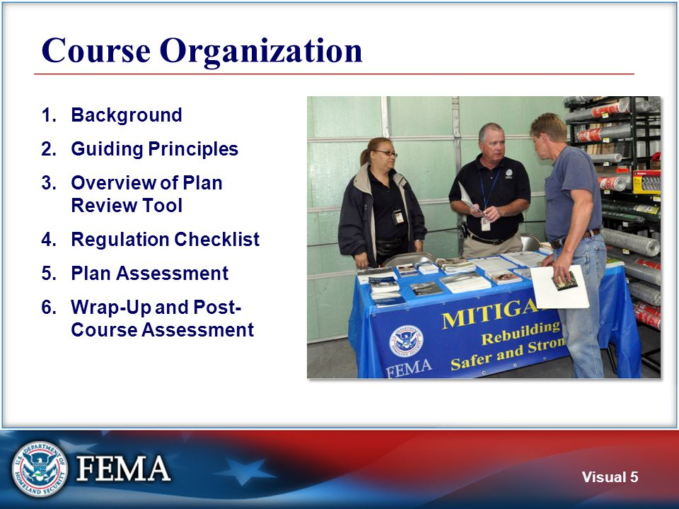 1. Background This section covers Hazard mitigation