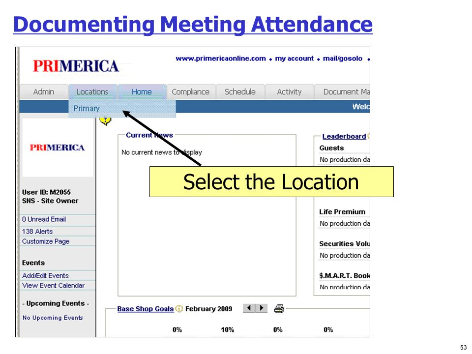 Documenting Meeting Attendance