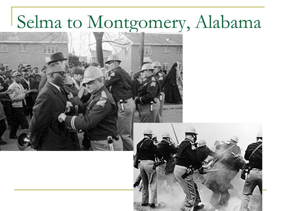 Selma to Montgomery, Alabama