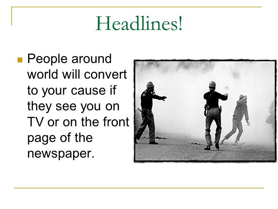 Headlines.
