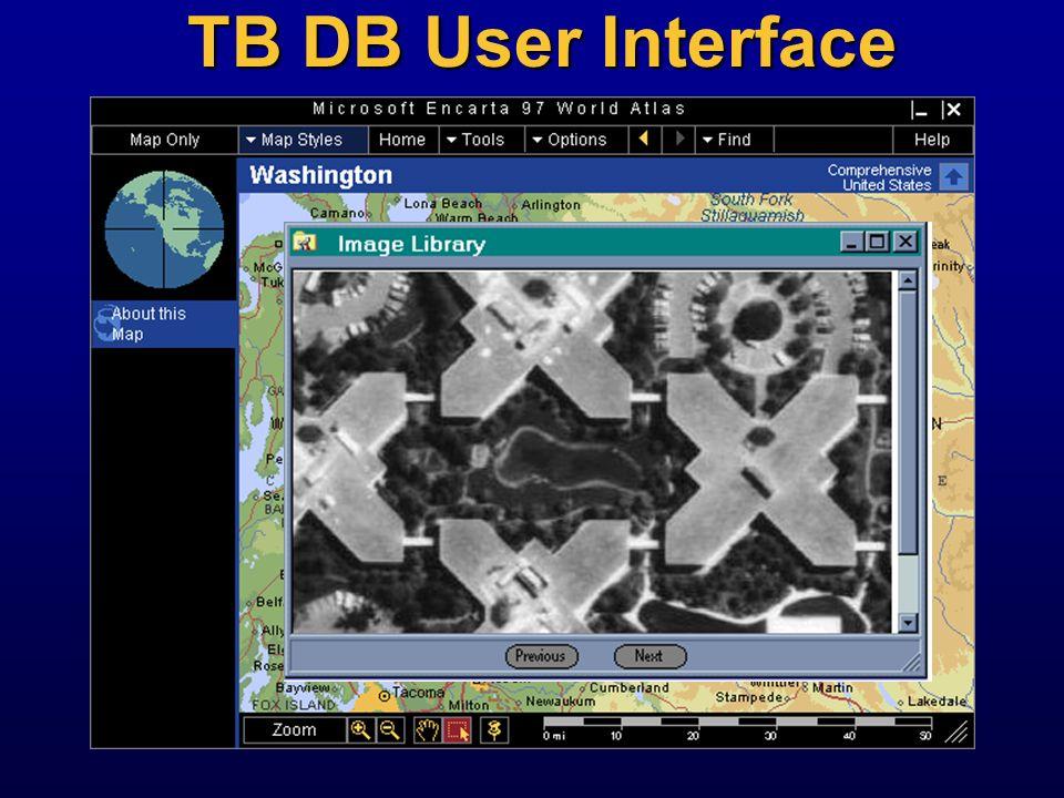 TB DB User Interface Next