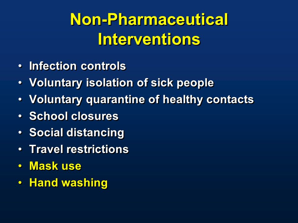 Non-Pharmaceutical Interventions