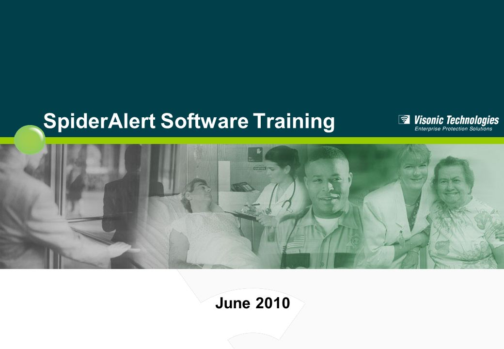 SpiderAlert Software Training