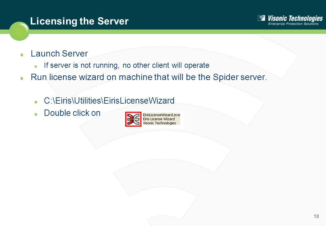 Licensing the Server Launch Server