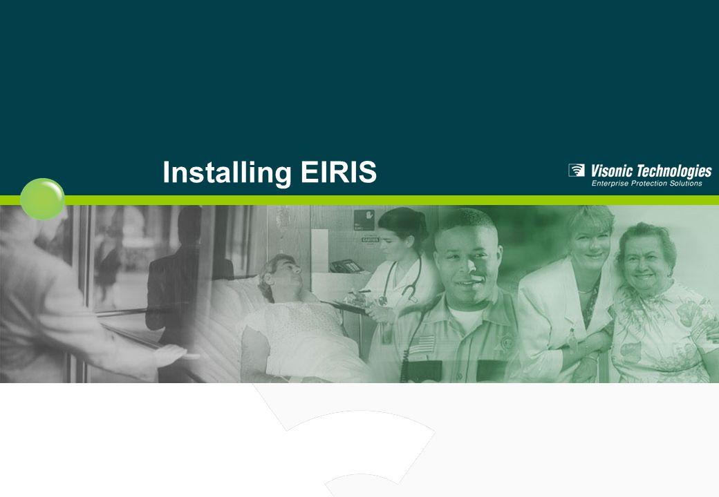 Installing EIRIS