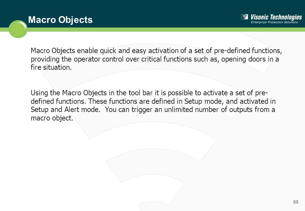 Macro Objects