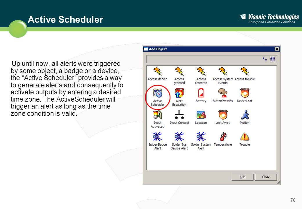 Active Scheduler