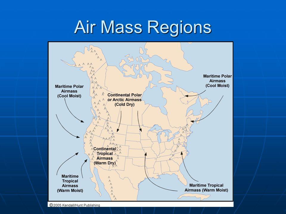 Air Mass Regions