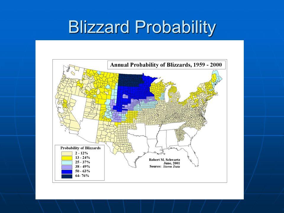 Blizzard Probability