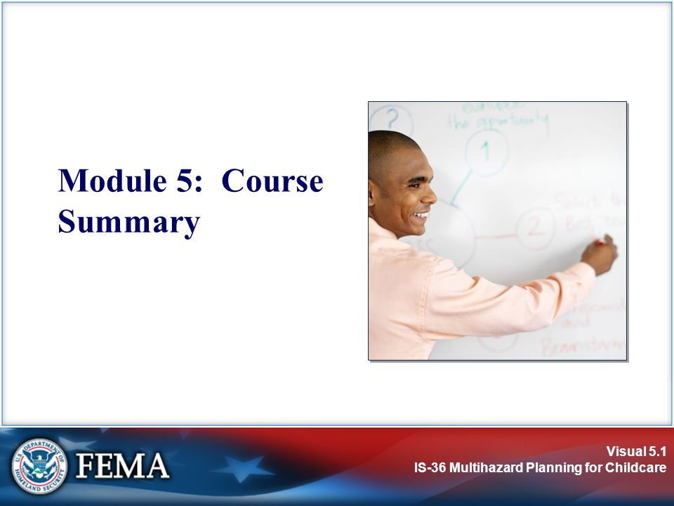 Module 5: Course Summary