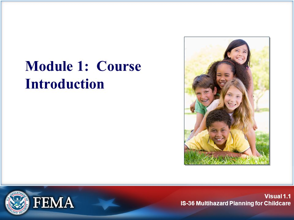 Module 1: Course Introduction