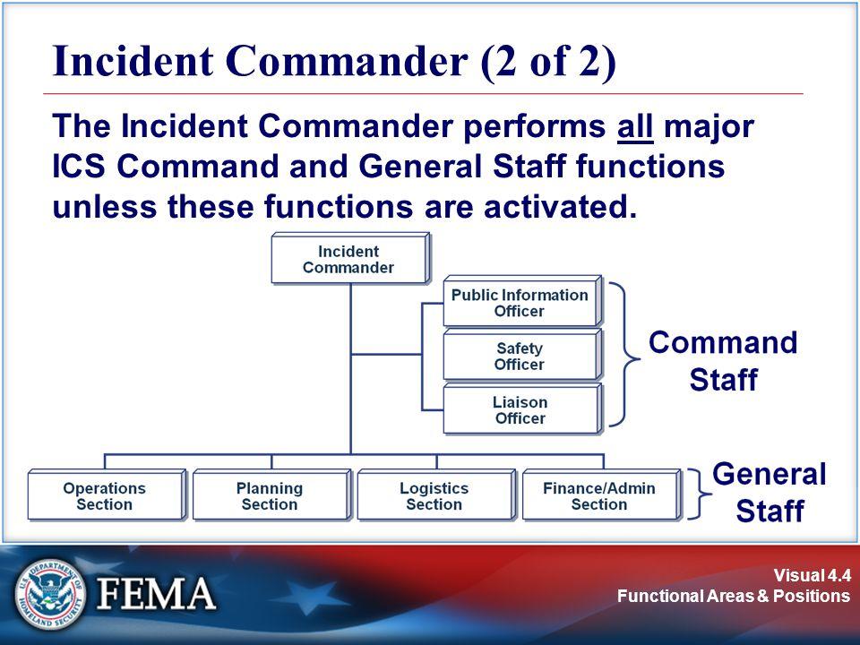 Incident Commander (2 of 2)