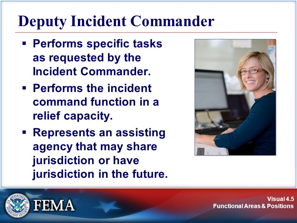 Deputy Incident Commander