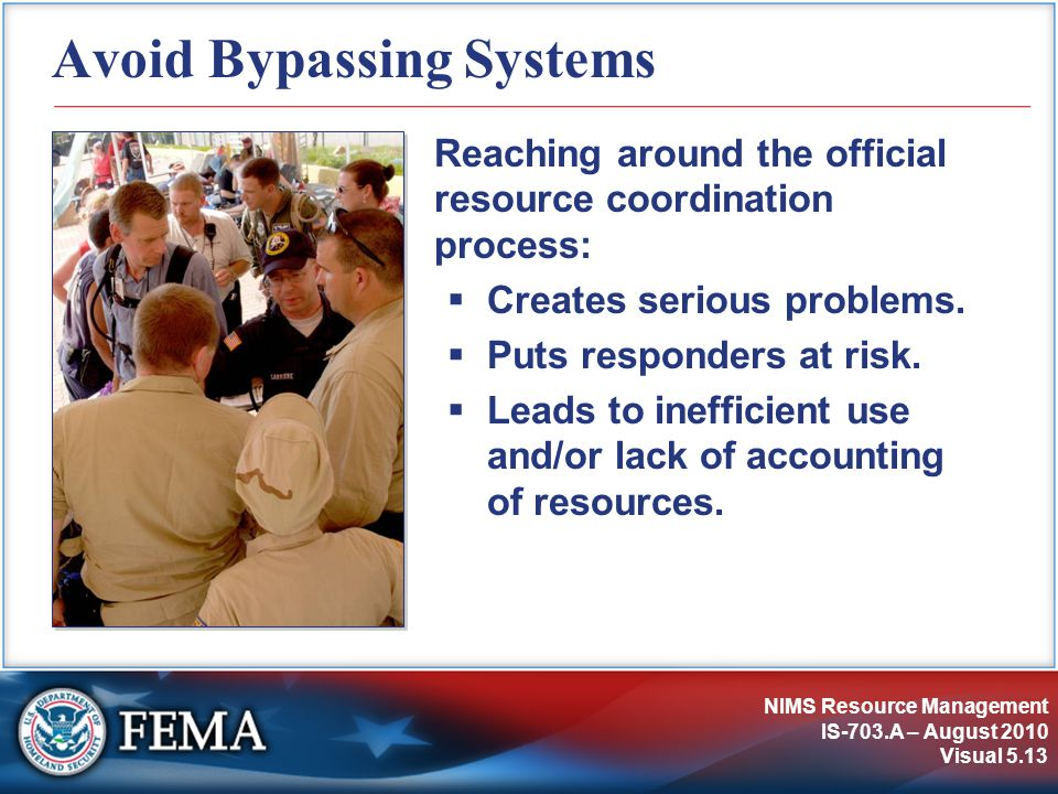 Avoid Bypassing Systems