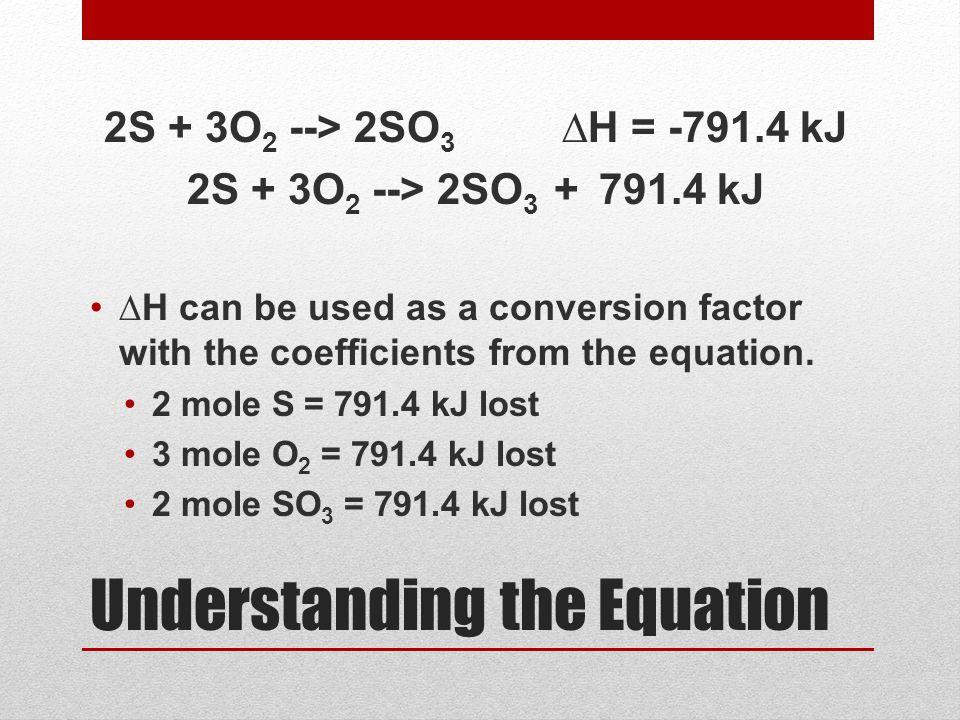 Understanding the Equation