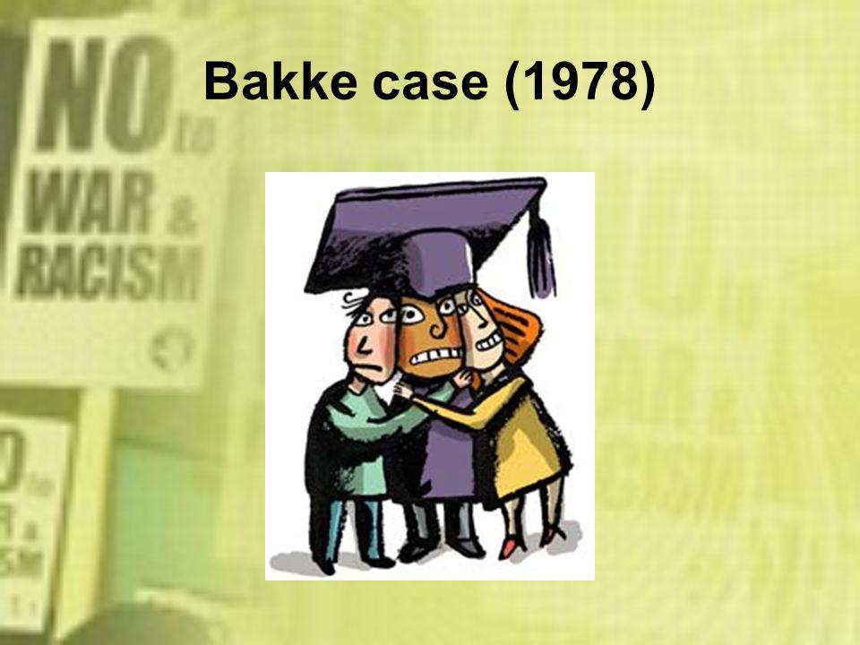 Bakke case (1978)