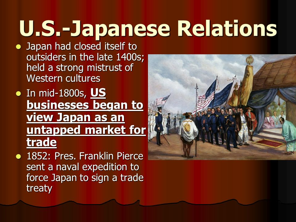 U.S.-Japanese Relations