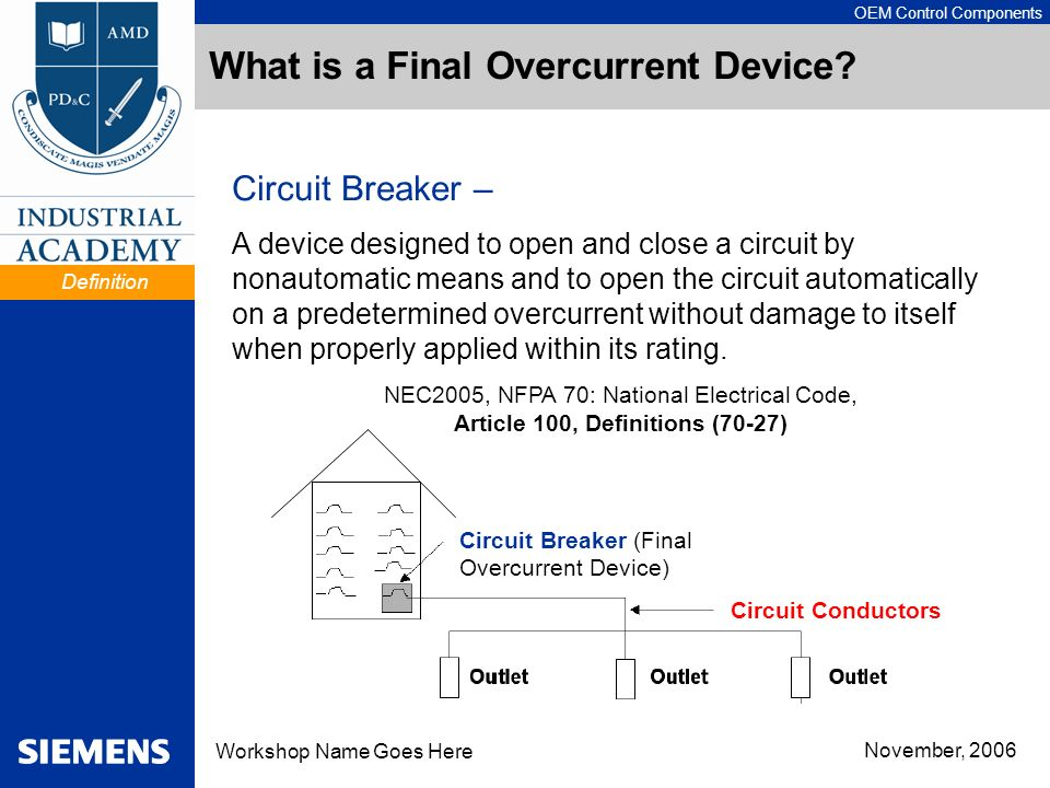 What is a Final Overcurrent Device