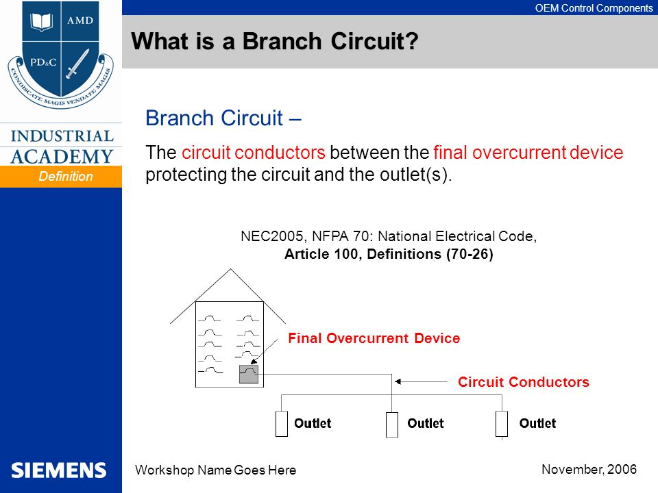 What is a Branch Circuit
