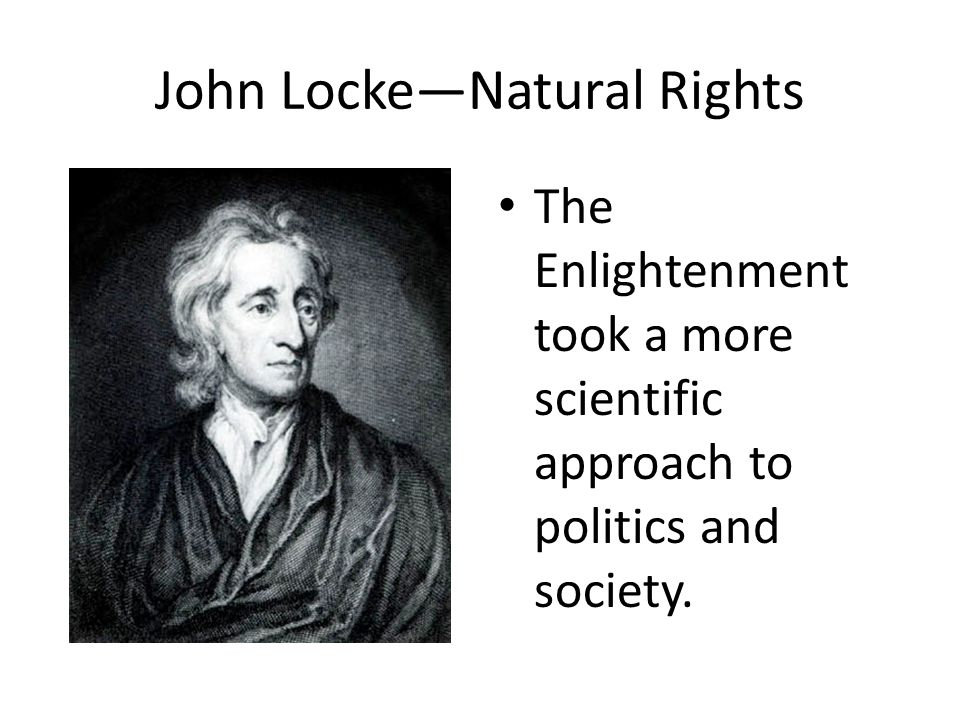John Locke—Natural Rights