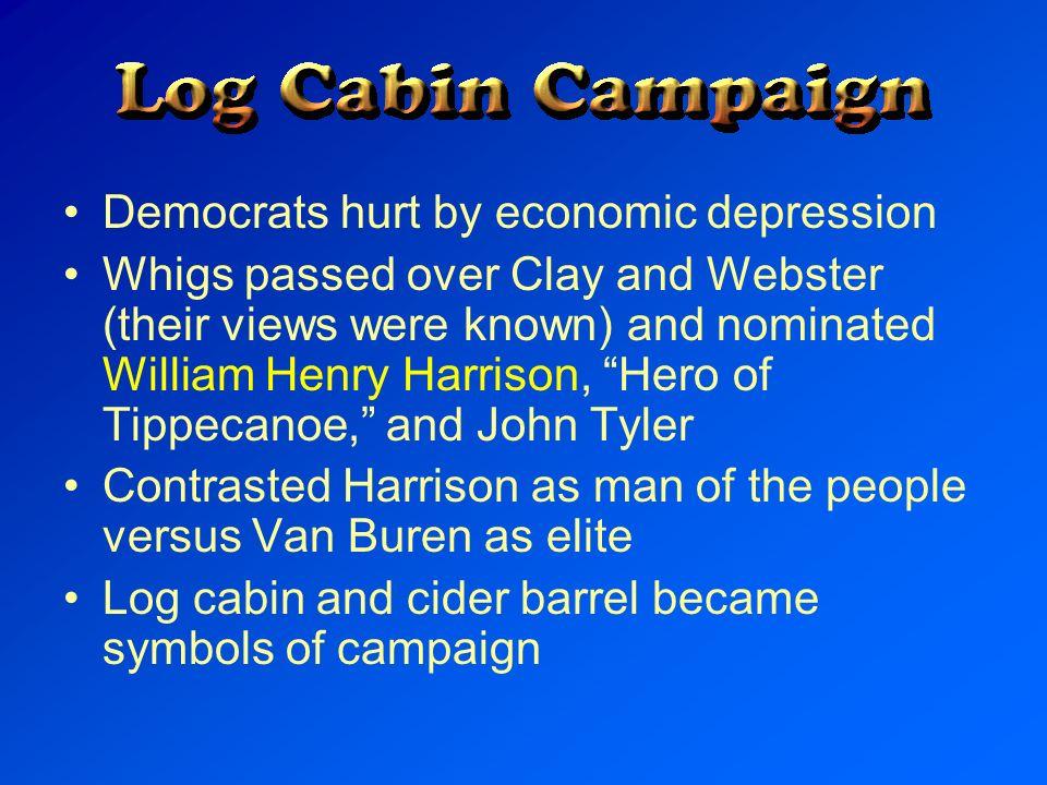Democrats hurt by economic depression