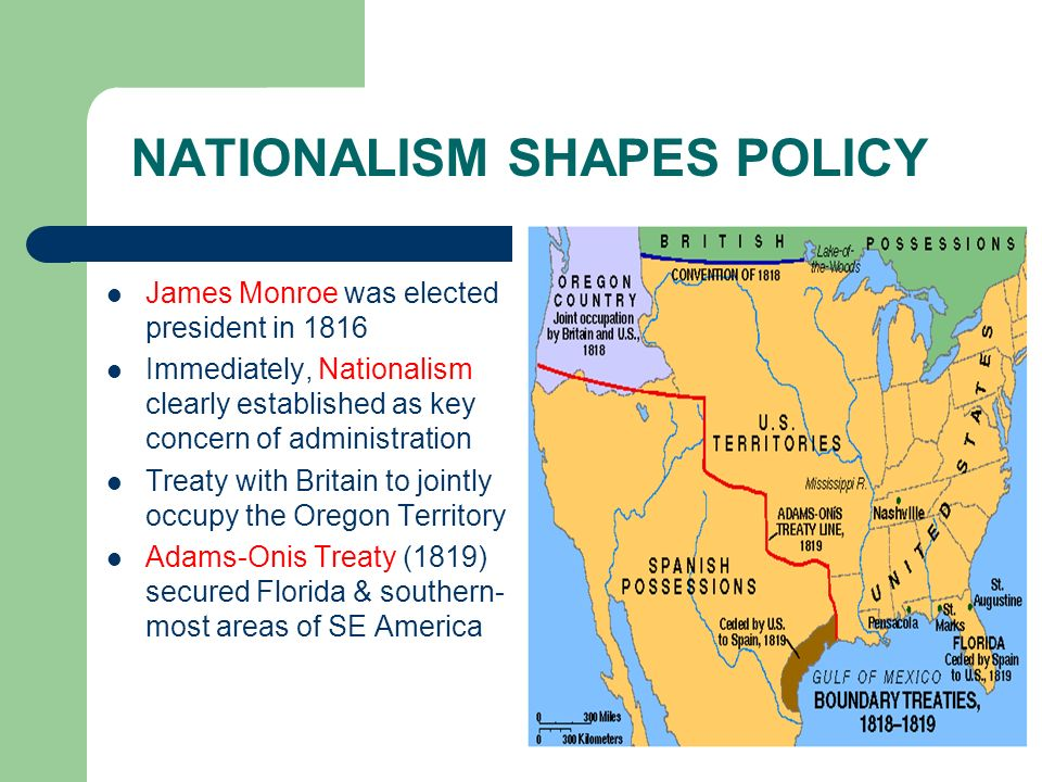 NATIONALISM SHAPES POLICY
